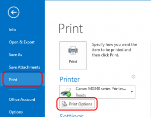 office 2013 outlook crashing when printing - GoodChoice IT